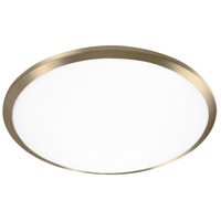 Kuzco Lighting FM1515-VB Malta LED 15 inch Vintage Brass Flush Mount Ceiling Light