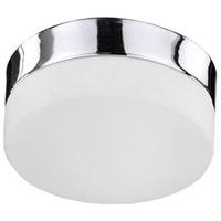 Kuzco Lighting FM2007-CH Signature LED 7 inch Chrome Flush Mount Ceiling Light