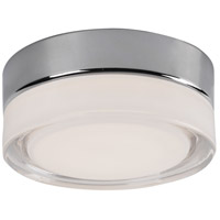 Kuzco Lighting FM3506-CH Bedford LED 6 inch Chrome Flush Mount Ceiling Light