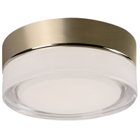 Kuzco Lighting FM3506-VB Bedford LED 6 inch Vintage Brass Flush Mount Ceiling Light
