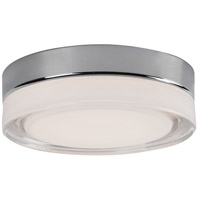 Kuzco Lighting FM3511-CH Bedford LED 11 inch Chrome Flush Mount Ceiling Light