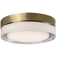 Kuzco Lighting FM3511-VB Bedford LED 11 inch Vintage Brass Flush Mount Ceiling Light
