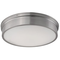 Kuzco Lighting FM5017-BN Tristan LED 17 inch Brushed Nickel Flush Mount Ceiling Light