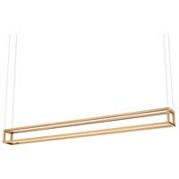 Kuzco Lighting LP34460-GD Plaza 5 inch Gold Pendant Ceiling Light