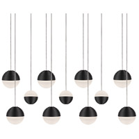 Kuzco Lighting MP10511-BK Supernova LED 8 inch Black Pendant Ceiling Light