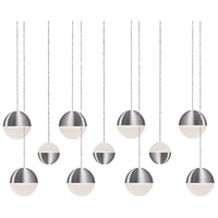 Kuzco Lighting MP10511-BN Supernova LED 8 inch Brushed Nickel Pendant Ceiling Light