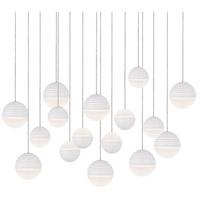 Kuzco Lighting MP10516-WH Supernova LED 24 inch White Pendant Ceiling Light