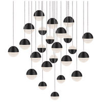 Kuzco Lighting MP10524-BK Supernova LED 25 inch Black Pendant Ceiling Light