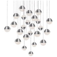 Kuzco Lighting MP10524-BN Supernova LED 25 inch Brushed Nickel Pendant Ceiling Light