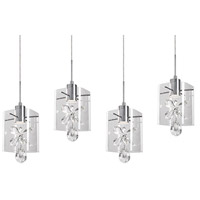 Kuzco Lighting MP2704-CH Navi LED 6 inch Chrome Pendant Ceiling Light