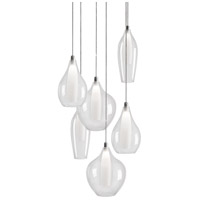 Kuzco Lighting MP3006 Victoria LED 13 inch Chrome Pendant Ceiling Light