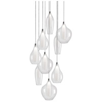 Kuzco Lighting MP3009 Victoria LED 19 inch Chrome Pendant Ceiling Light