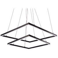 Kuzco Lighting MP62255-BK Piazza LED 55 inch Black Pendant Ceiling Light