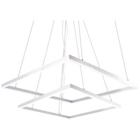 Kuzco Lighting MP62255-WH Piazza LED 55 inch White Pendant Ceiling Light