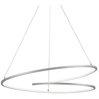 Kuzco Lighting PD11132-AS Twist 32 inch Antique Silver Pendant Ceiling Light