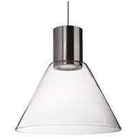 Kuzco Lighting PD11612-BN Vanier LED 12 inch Brushed Nickel Pendant Ceiling Light