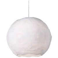 Kuzco Lighting PD11917-WH Artemis LED White Pendant Ceiling Light