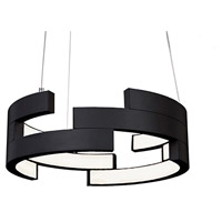 Kuzco Lighting PD12716-BK Anello LED 16 inch Black Pendant Ceiling Light