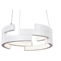 Kuzco Lighting PD12716-WH Anello LED 16 inch White Pendant Ceiling Light