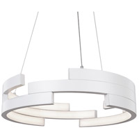 Kuzco Lighting PD12722-WH Anello LED 22 inch White Pendant Ceiling Light