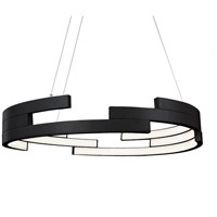 Kuzco Lighting PD12732-BK Anello LED 32 inch Black Pendant Ceiling Light