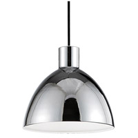 Kuzco Lighting PD1709-CH Chroma LED 9 inch Chrome Pendant Ceiling Light