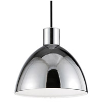 Kuzco Lighting PD1712-CH Chroma LED 12 inch Chrome Pendant Ceiling Light