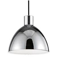 Kuzco Lighting PD1712-CH Chroma LED 12 inch Chrome Pendant Ceiling Light