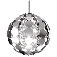 Kuzco Lighting PD1819-CH Navi LED 19 inch Chrome Pendant Ceiling Light