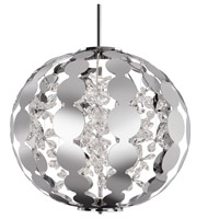 Kuzco Lighting PD1825-CH Navi LED 25 inch Chrome Pendant Ceiling Light