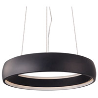 Kuzco Lighting PD22723-BK Halo LED 23 inch Black Pendant Ceiling Light