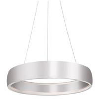 Kuzco Lighting PD22723-BS Halo LED 23 inch Brushed Steel Pendant Ceiling Light