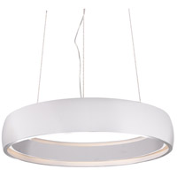 Kuzco Lighting White Halo Pendants