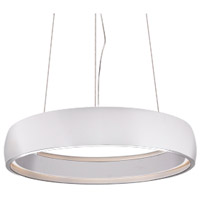 Kuzco Lighting PD22723-WH Halo LED 23 inch White Pendant Ceiling Light