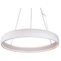 Kuzco Lighting PD22735-WH Halo LED 35 inch White Pendant Ceiling Light
