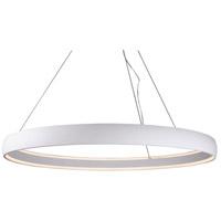 Kuzco Lighting PD22753-WH Halo LED 53 inch White Pendant Ceiling Light