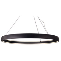 Kuzco Lighting PD22772-BK Halo LED 71 inch Black Pendant Ceiling Light