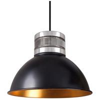 Kuzco Lighting PD2612-BK Herman LED 12 inch Black Pendant Ceiling Light