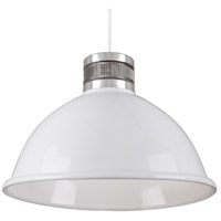 Kuzco Lighting PD2618-WH Herman LED 19 inch White Pendant Ceiling Light