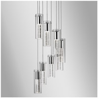 Kuzco Lighting PD4408-CH Champagne LED 16 inch Chrome Pendant Ceiling Light