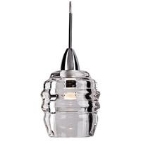 Kuzco Lighting PD52104-CH Honeycomb LED 4 inch Chrome Pendant Ceiling Light