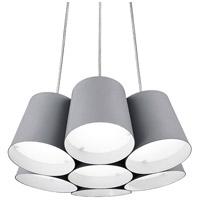 Kuzco Lighting PD5216-GY Signature LED 16 inch Grey Pendant Ceiling Light
