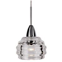 Kuzco Lighting PD54504-CH Nest LED 4 inch Chrome Pendant Ceiling Light