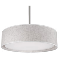 Kuzco Lighting PD7916-BG Dalton LED 16 inch Brushed Nickel Pendant Ceiling Light