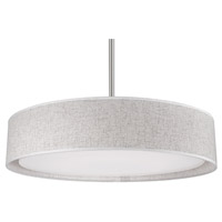 Kuzco Lighting PD7920-BG Dalton LED 20 inch Brushed Nickel Pendant Ceiling Light