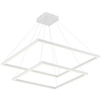 Kuzco Lighting CH85232-WH Piazza 32 inch White Chandelier Ceiling Light