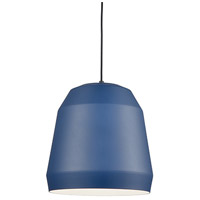 Kuzco Lighting 492122-IB Sedona 1 Light 22 inch Indigo Blue Pendant Ceiling Light