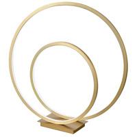 Kuzco Lighting TL11119-AN Twist 20 inch 29.5 watt Antique Brass Desk Lamp Portable Light