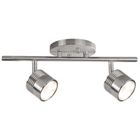 Lyra Brushed Nickel 10 watt LED Mono Point