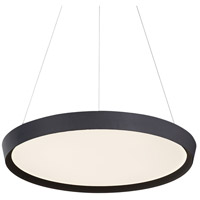 Kuzco Lighting PD81324-BK Union 24 inch Black Pendant Ceiling Light